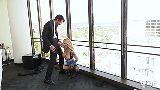 Sarah Jessie - Nailed By Boss Big Cock