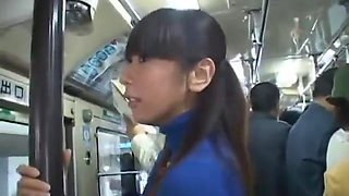 The bus was so hot - Japanese bus 7