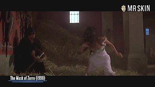 Catherine Zeta-Jones showing some skin in a nice erotic compilation
