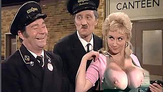 Never mind that bus Butler........get these tits out !