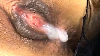 Misaki Inaba sexy Asian office lady gives cock stimulation
