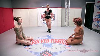 Daisy Ducati and Ruckus swap sex on the wrestling mat
