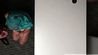 Teen panties caught Hijab-Wearing Arab Teen Harassed For Ste