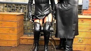 Mom Mistress Sucky Fucky Thighboots See pt2 at goddessheels