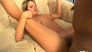Used blonde whore with big ass Sophia Gently wins mish by sucking BBC
