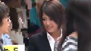 Exotic Japanese model Uta Kohaku in Amazing Car, Blowjob JAV video