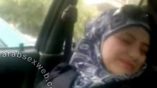 Syrian Girl In Car
