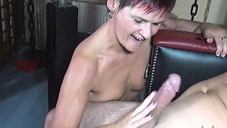 Two German couples meet up at their local swingers club and