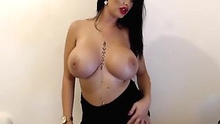 Uk Boss Babe Huge Boobs Topless