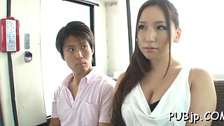 Staggering woman sayuki kanno fucked from behind