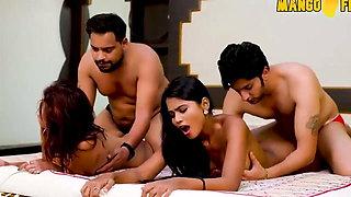 Desi Housewife Exchange and Hindi Swinger Sex