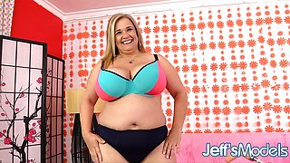Huge Mature Cami Cooper Plowed by Machine