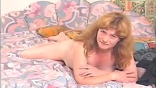 A MILF's yummy hairy pussy - Julia Reaves
