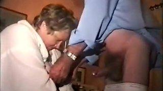 Amazing Amateur video with Grannies, Bisexual scenes