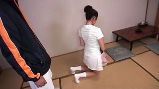 Crazy Japanese girl Mio Fujii, Erika Nishino, Marika Tsutsui in Horny Blowjob, Facial JAV movie