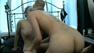 Punk lesbians toying and strapon fucking