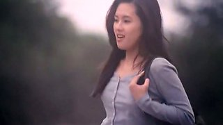 Kinky and hot Asian babe in fetishistic erotic film
