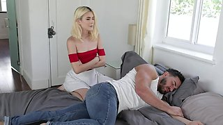 Teen Ties Up Stud And Makes Him Cum Inside