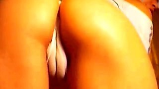 Romanian Blonde Girl amazing cameltoe Part 3