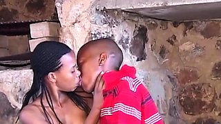Hairy African Girlfriend Fucked In Dungeon
