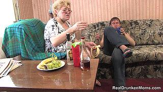 Drunk Russian Granny - Toma - Part 1