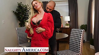 Naughty America - Casca Akashova is a beautiful blonde MILF