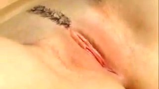 Closeup of chubby cameltoe pussy fingering ass tight pussy
