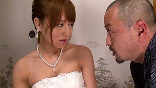 Mxgs-398 Akiho Yoshizawa Bride Was Committed To The Adoptive Father B