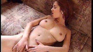 Lenka Gaborova - Hardcore Scene on a Bed