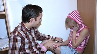 Prurient blonde perfection Foxy gets her copher banged