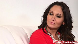 Bigtitted glamour milf cockriding in office