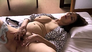 Voluptuous Asian housewife gets her cunt devoured and fucked