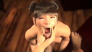 Virginity Lost Of Yuna In Wonderland - Hottest 3D anime sex