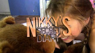 Nikky Thorne  the naughty teengirl confesses her guilty