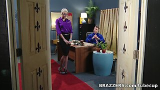 Big Tits at Work: Defiance in the Office First Anal