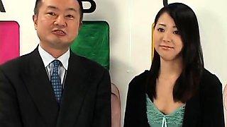 Asian at a glory hole
