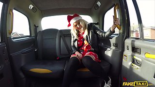 Promiscuous Louise Lee celebrates the holidays with her cab driver