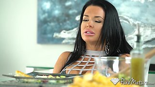 Scorching hot MILF Veronica Avluv wants some dick and she's gonna get it