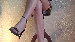 Ankle Strap calf jiggle