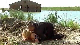 Crazy amateur Blonde, European porn clip
