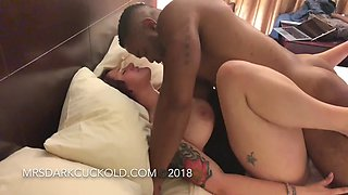 Cuckold MILF Makes Sensual Eye Contact As She&#39s Filled Out by Her Bull