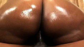 Black BBW Tinah Oiled Up