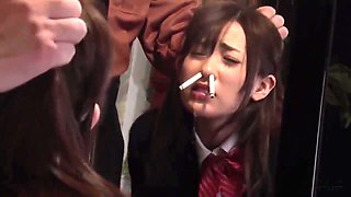 Nose smoking abuse