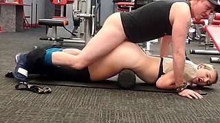 Trainer Fucks in Gym