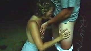 Vintage video of a granny fucking