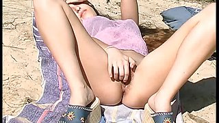 teen  nude at beach part 02